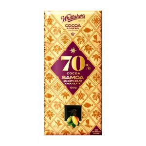 Whittakers 70% Cocoa Samoa Smooth Dark Choco