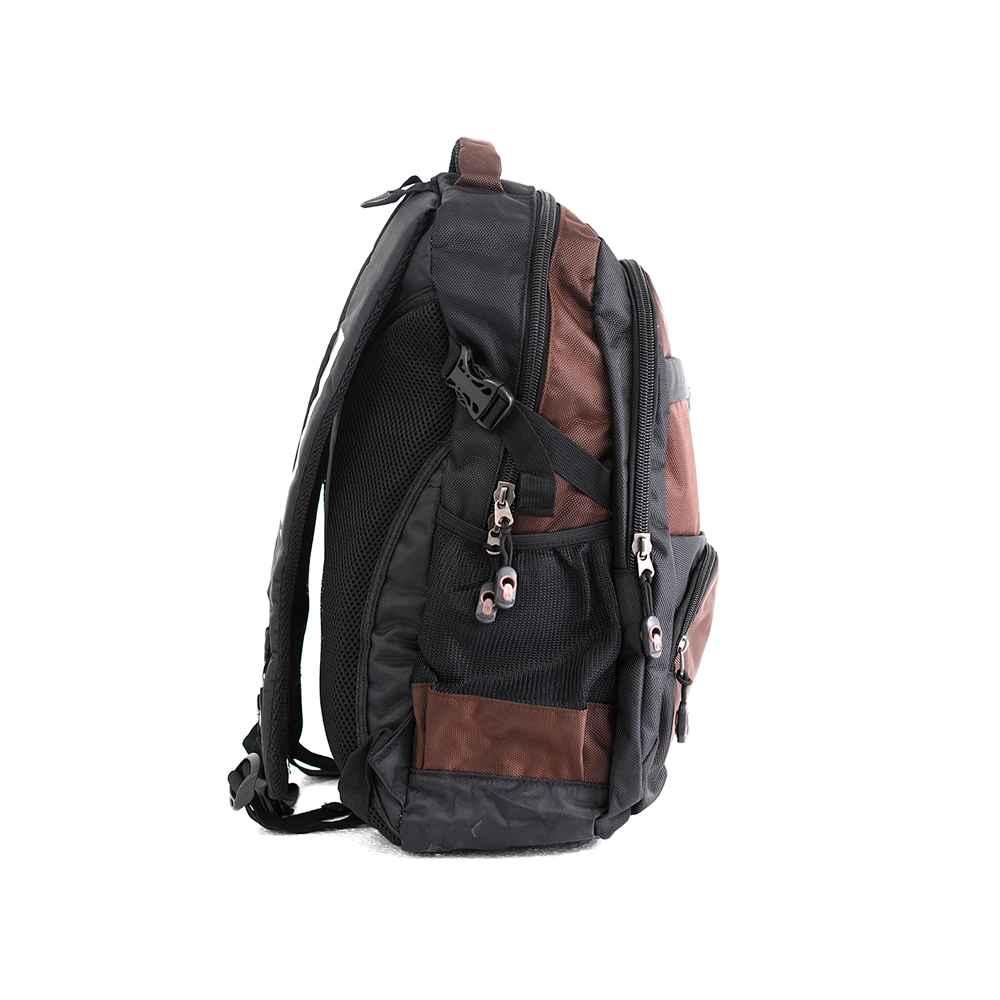 PARA JOHN Backpack for School, Travel & Work, 18''- PJSB6016A18-Brown