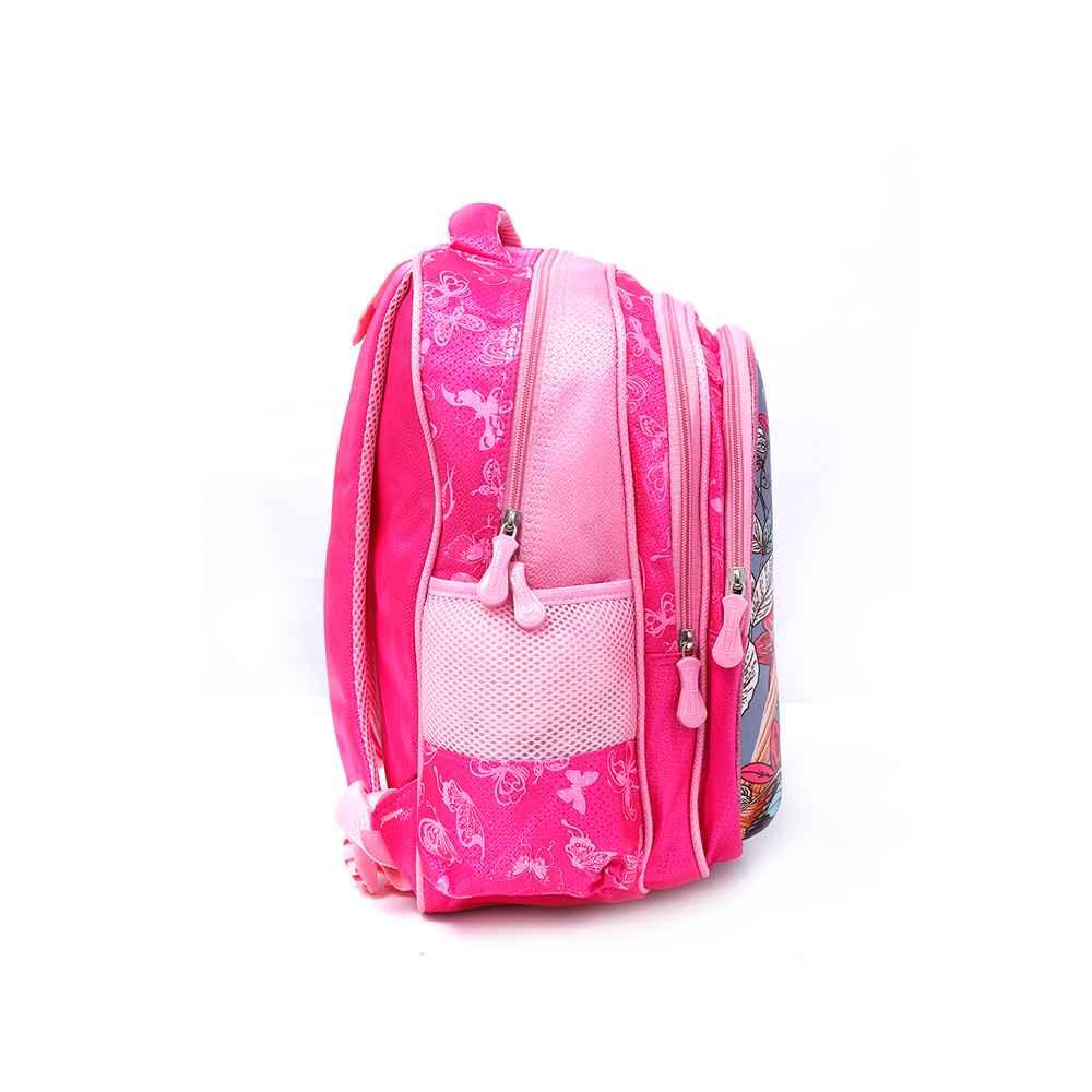 PARA JOHN Backpack for School, Travel & Work, 16''- PJSB6025A16-Pink