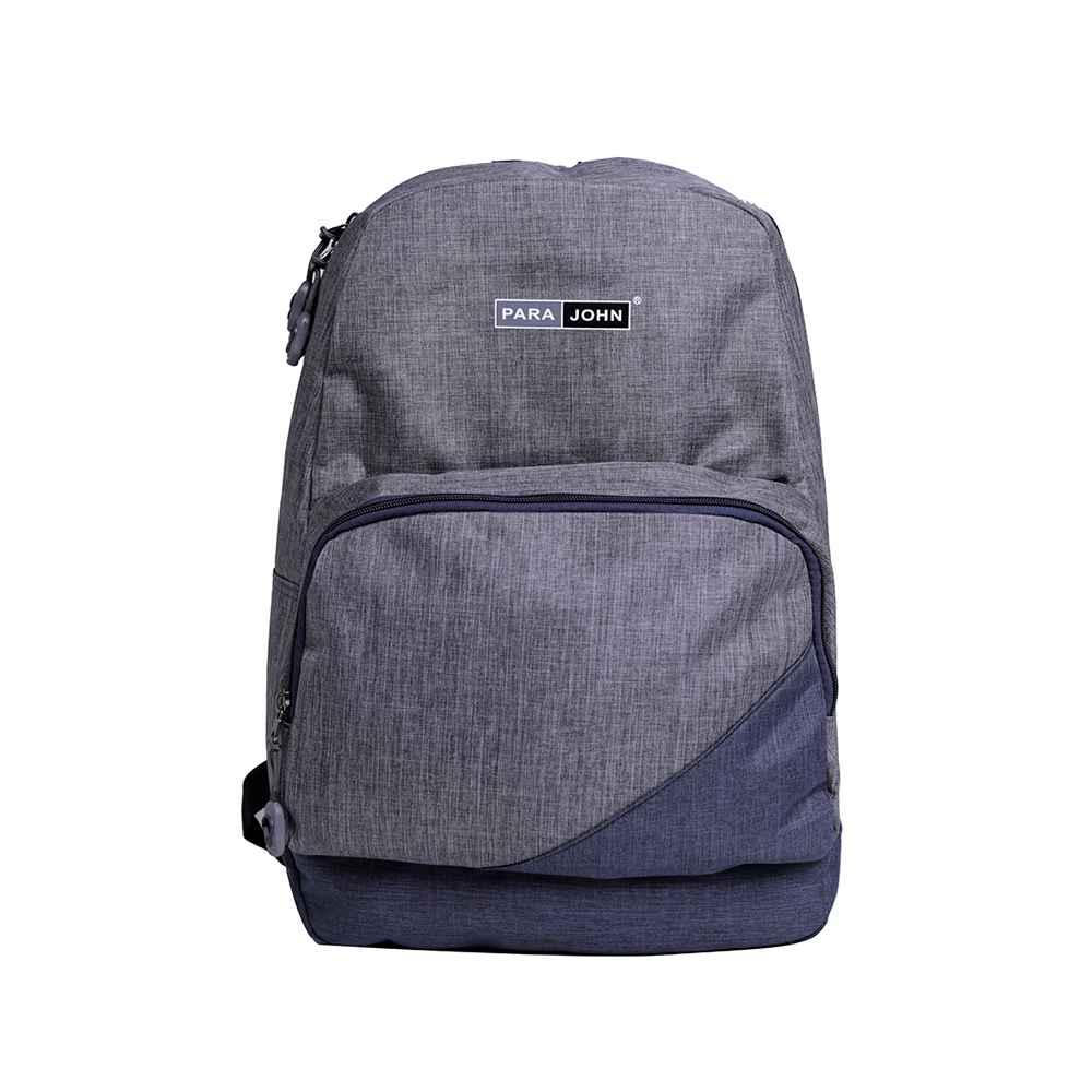 PARA JOHN Kids School Rucksack Bag, Backpack for School, 18 L- PJSB6051A18-Grey