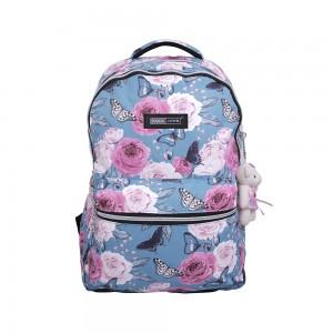 PARA JOHN School Bag, Backpack for School, 19L- PJSB6056-Blue