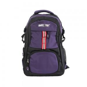 PARA JOHN Backpack for School, Travel & Work, 20''- PJSB6015A20-Violet
