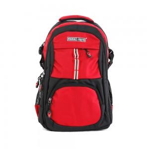 PARA JOHN Backpack for School, Travel & Work, 20''- PJSB6015A20-Red