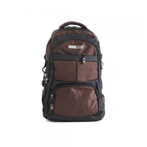 PARA JOHN Backpack for School, Travel & Work, 20''- PJSB6016A20-Brown