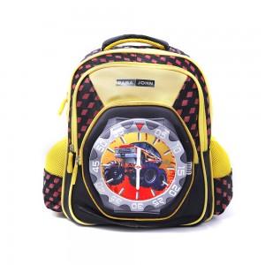 PARA JOHN Backpack for School, Travel & Work, 18''- PJSB6024A18-Yellow