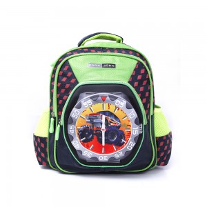 PARA JOHN Backpack for School, Travel & Work, 18''- PJSB6024A18-Green