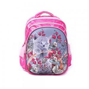 PARA JOHN Backpack for School, 18''- PJSB6025A18-Pink