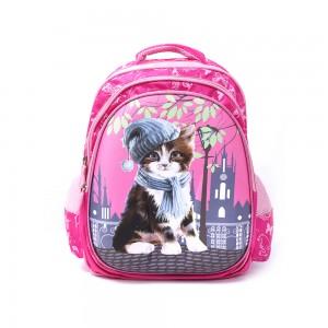 PARA JOHN Backpack for School, Travel & Work, 18''- PJSB6025A18-Pink