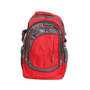 PARA JOHN Backpack for School, Travel & Work, 22''- PJSB6000A22-Red