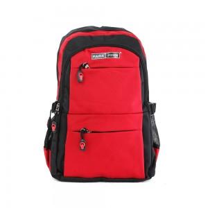 PARA JOHN Backpack for School, Travel & Work, 22''- PJSB6014A22-Red