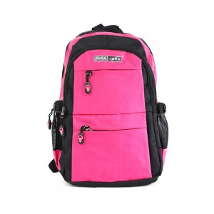 PARA JOHN Backpack for School, Travel & Work, 22''- PJSB6014A22-Pink