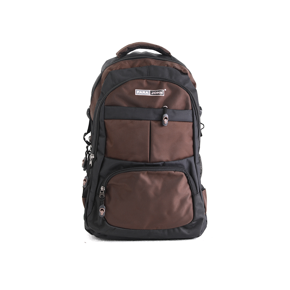 PARA JOHN Backpack for School, Travel & Work, 22''- PJSB6016A22-Brown