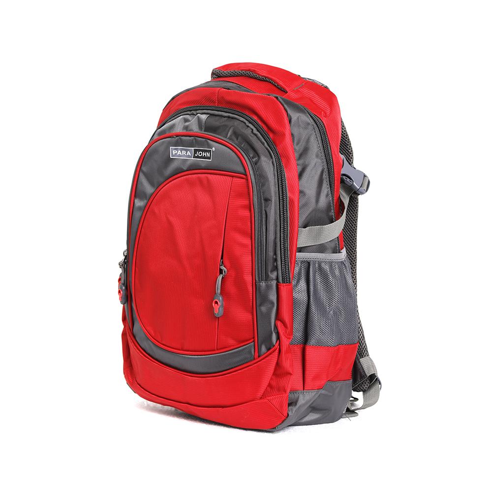 PARA JOHN Backpack for School, Travel & Work, 24''- PJSB6000A24-Red