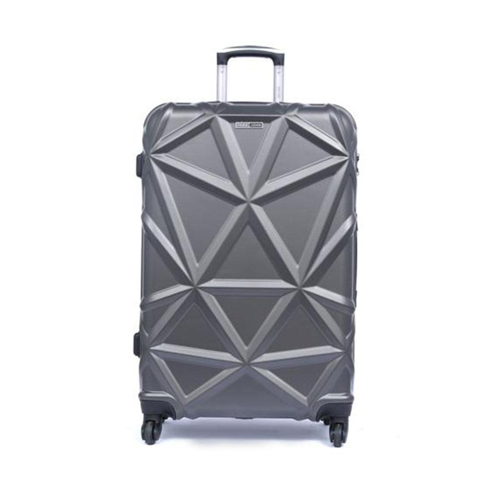 Parajohn PJTR3126 Matrix Luggage Trolley, Dark Grey 20 Inch