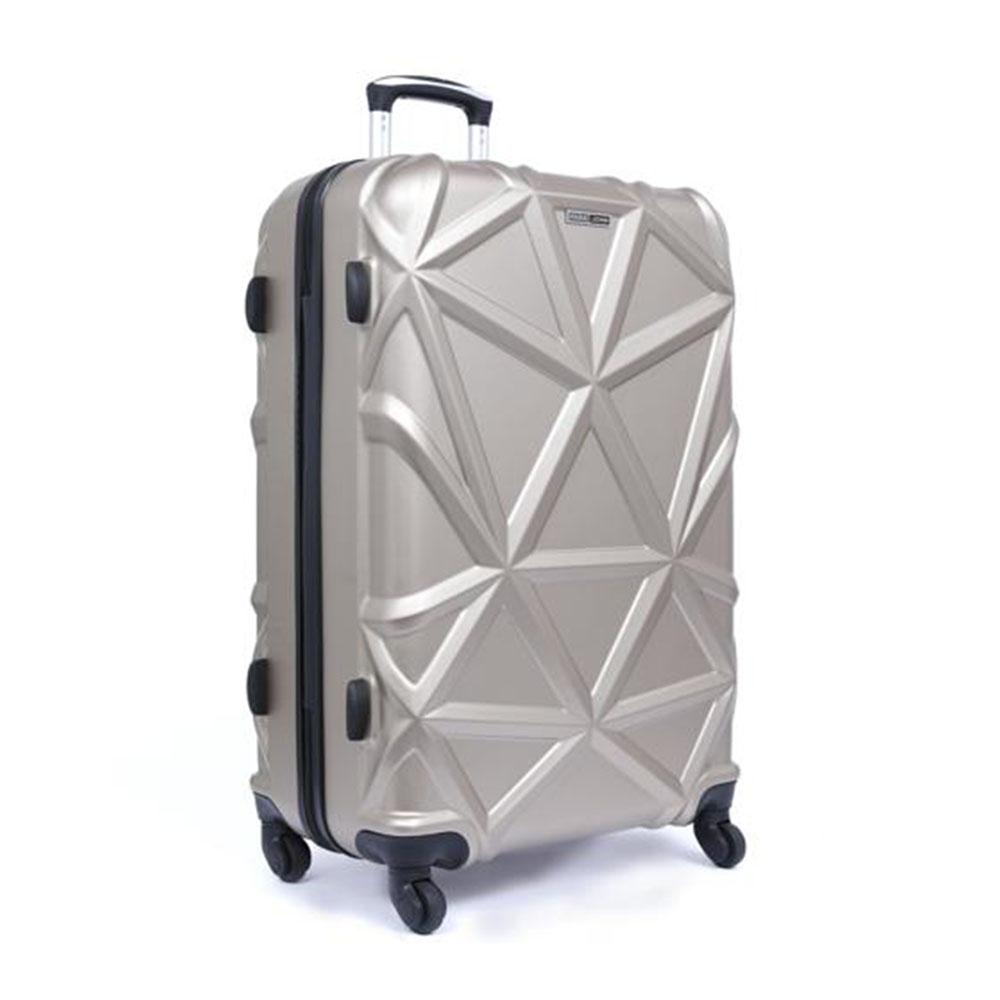 Parajohn PJTR3126 Matrix Luggage Trolley, Champagne 20 Inch