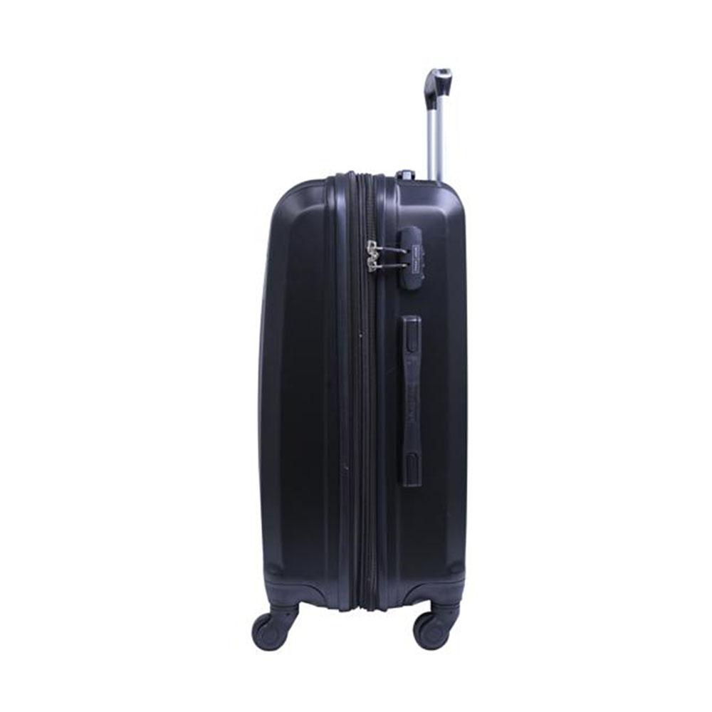 Parajohn PJTR2008 2 Pcs Luggage Trolley Set, Black