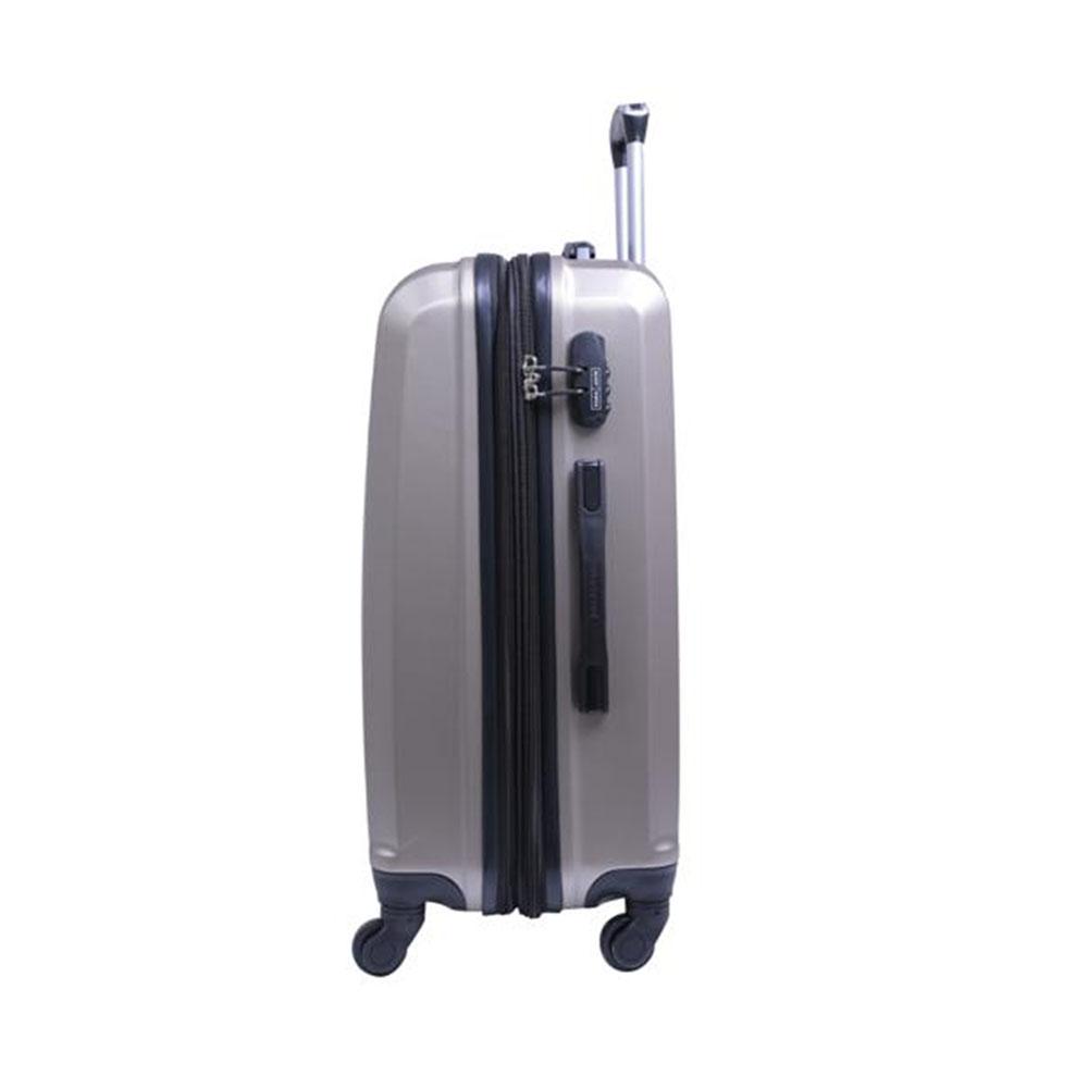 Parajohn PJTR2008 2 Pcs Luggage Trolley Set, Champagne