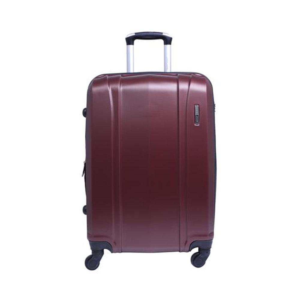 Parajohn PJTR2008 2 Pcs Luggage Trolley Set, Maroon