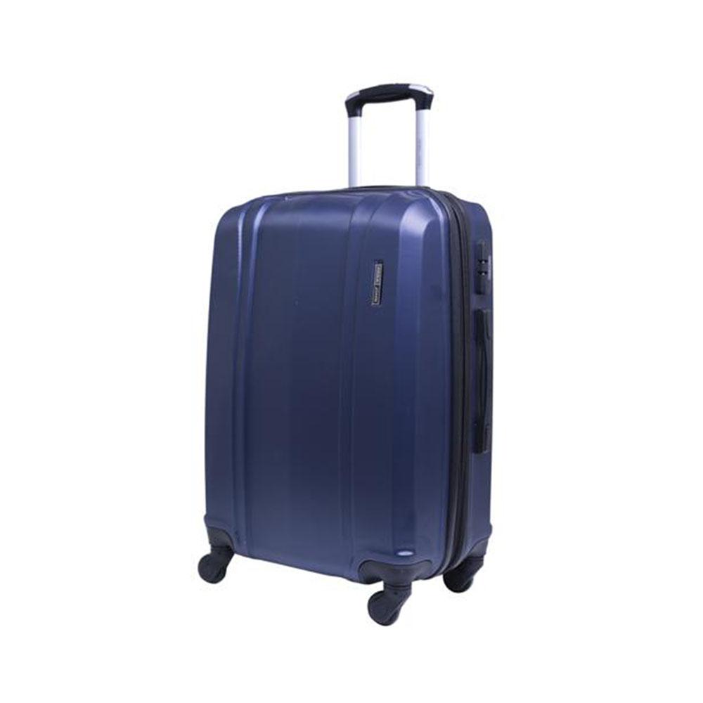 Parajohn PJTR2008 2 Pcs Luggage Trolley Set, Navy