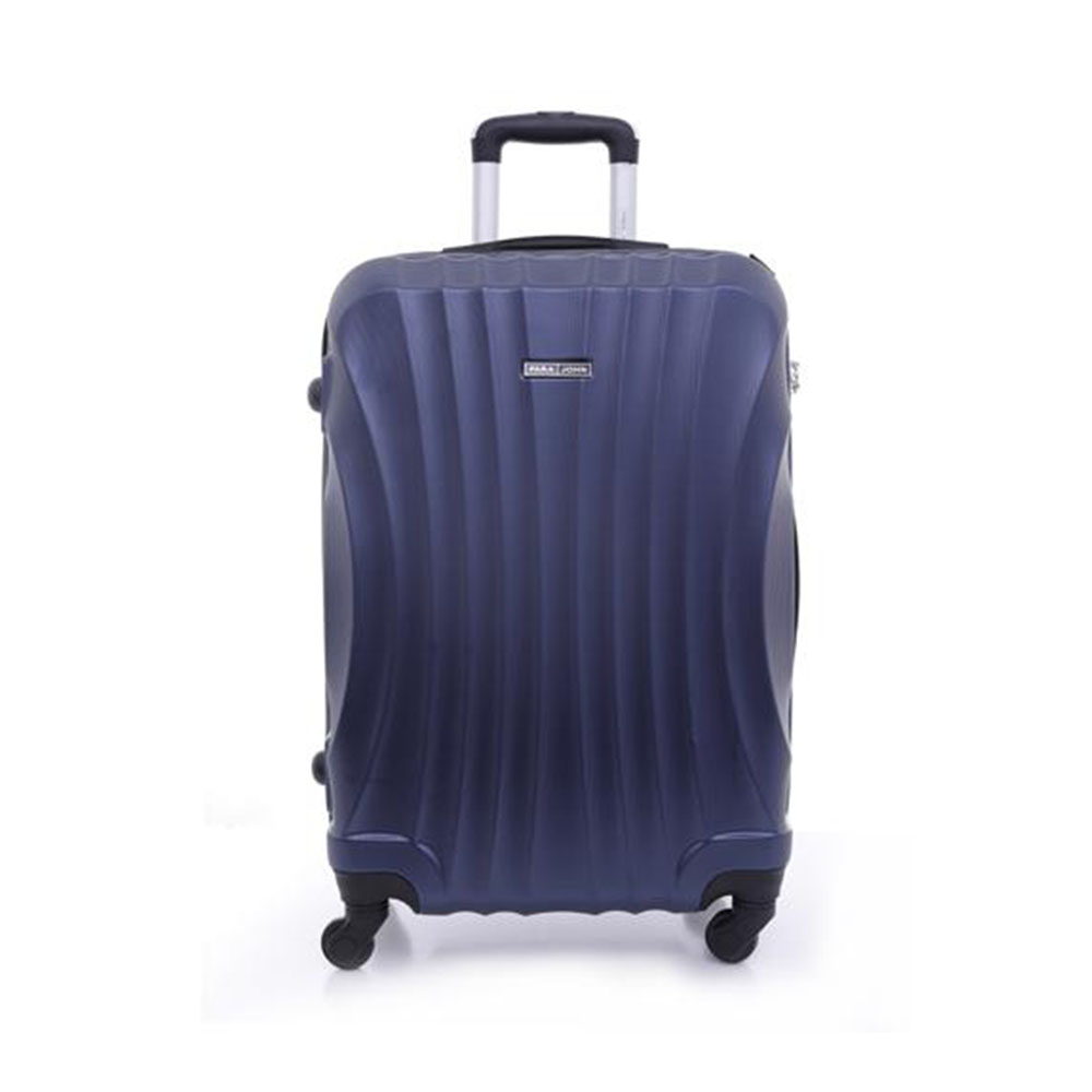 Parajohn PJTR3057 ABS Hard Trolley Luggage Set, Navy