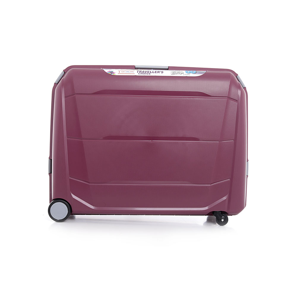 Parajohn Travel Luggage Suitcase Set of 2 - Cabin Size Roller Travel Suitcase - Maroon