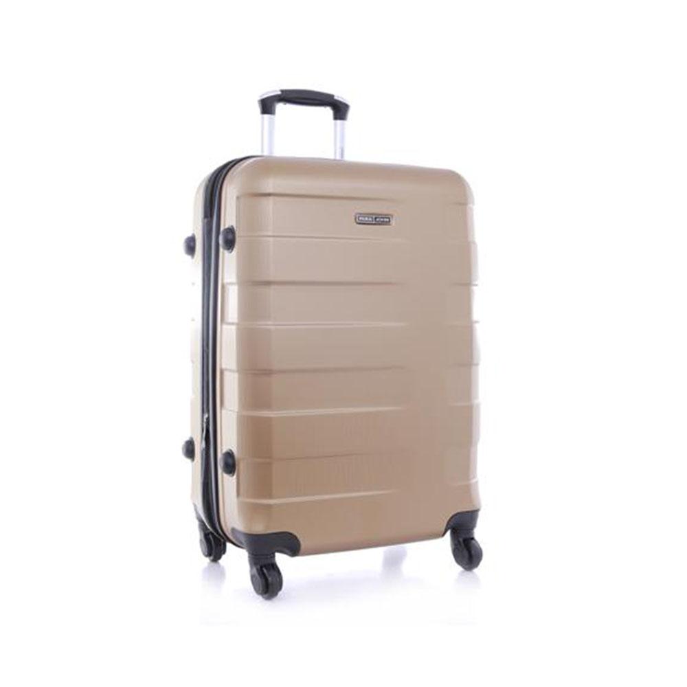 Parajohn PJTR4025 4 Pcs Zin Trolley Luggage Set, Golden