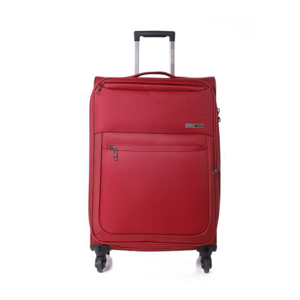 Parajohn PJTR3116 Polyester Soft Trolley Luggage Set, Red