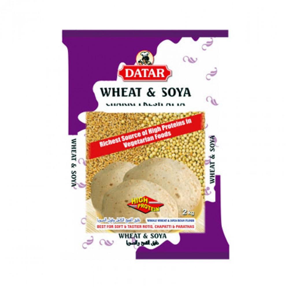 Datar Chakki Fresh Wheat & Soya Atta