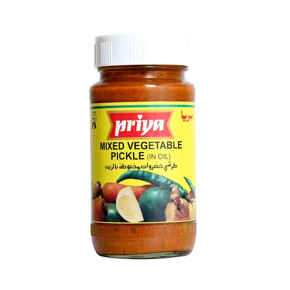 Priya Mixed Vegetable Pickle In Oil