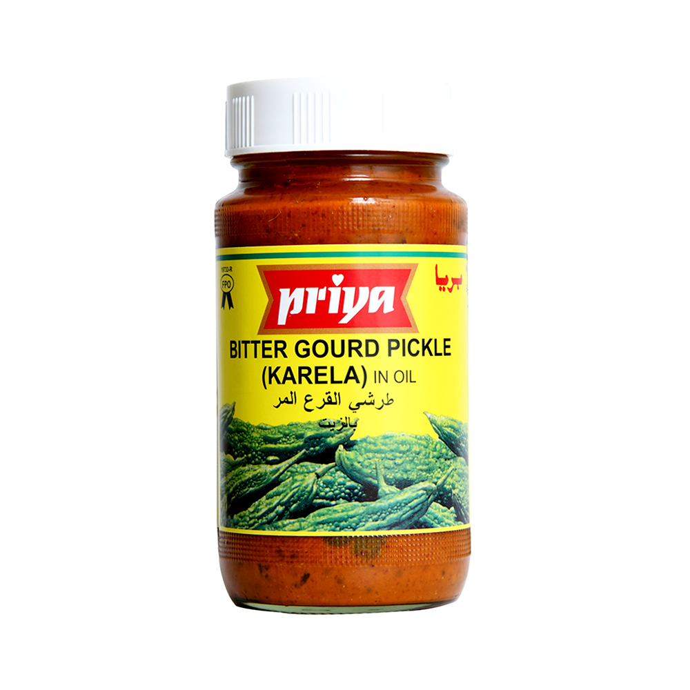 Priya Bittergourd (Karela) Pickle In Oil