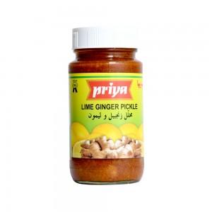 Priya Lime Ginger Pickle In Lime Juice