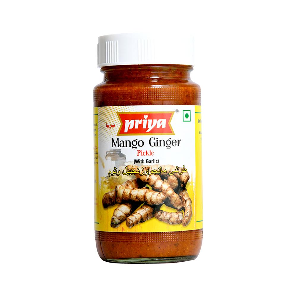 Priya Mango Ginger Pickle In Oil