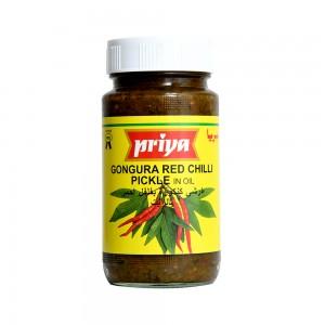 Priya Gongura Red Chilli Pickle In Oil