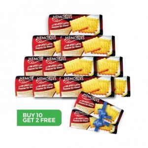 Memories biscuits Buy 10 get 2 Free