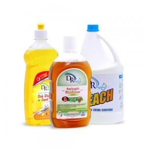 Dr. Hygiene Dishwash + Antiseptic Disinfectant + Bleach