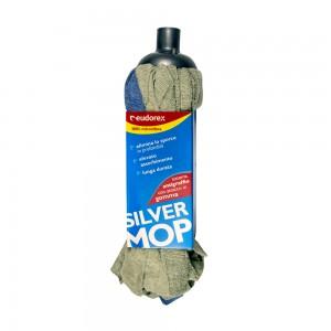 Eudorex Silver Microfibre Mop With Handle