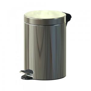 Alda Stainless Steel 3L Freedom Fresh Round Pedal Bin F610