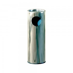 Alda Stainless Steel 69 CM Sandy Ashtray Bin-678
