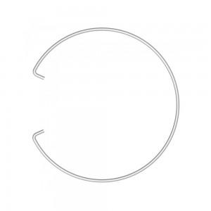 Alda Wire Garbage Bag Holder for Bin & Bucket-24 CM, 002