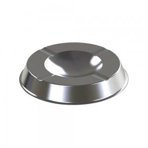 Alda Stainless Steel 14 CM Alda Gloss Table Ashtray Bin-626