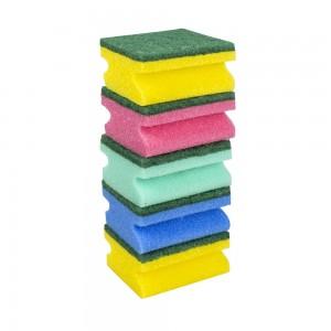 Super 5 Multi Colour Shaped Sponge