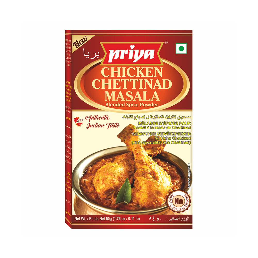 Priya Chicken Chettinad  Masala