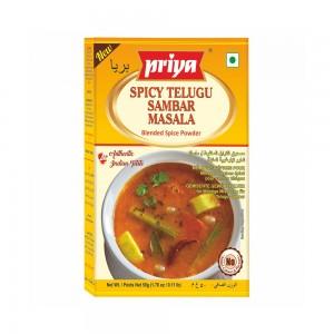 Priya Spicy Telugu Sambar Powder