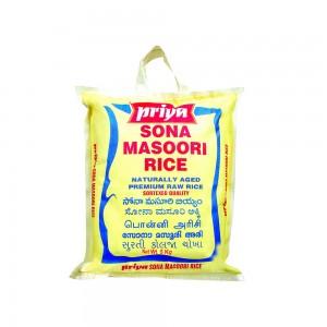 Priya Premium Sona Masoori Raw Rice