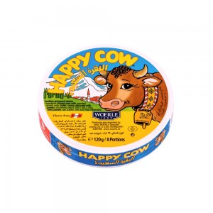 Happy Cow Round Portion Cheese