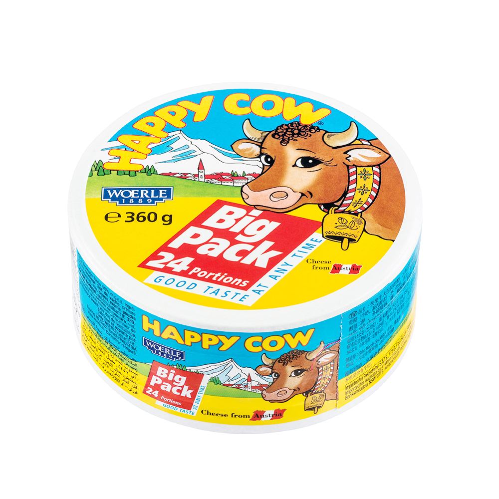 Happy Cow Big Pack Portion Cheese