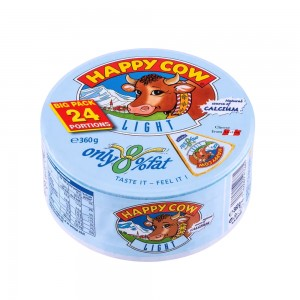 Happy Cow Light Big Pack Portion Cheese