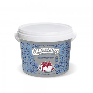 Quescrem Cream Cheese Regular In Bucket