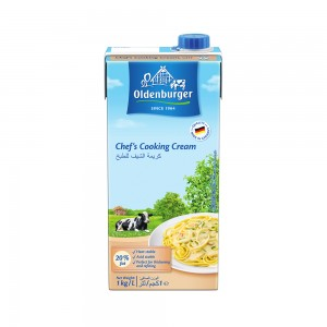 Oldenburger Chef'S Uht Cooking Cream (20% Fat)