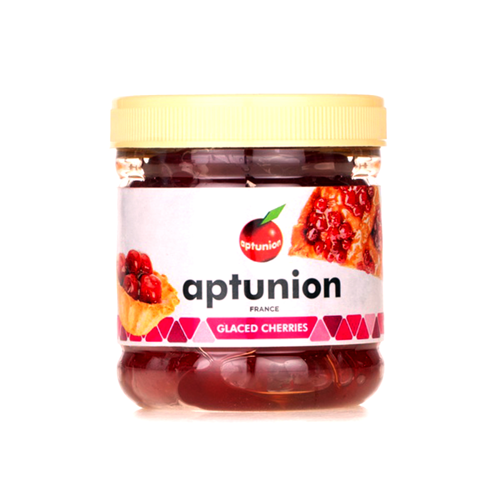 Aptunion Red Glazed Cherries In Cup